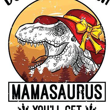 Mamasaurus by Pixelofart