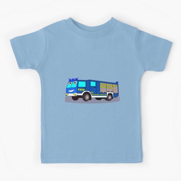 THW blue light relief organization Kids T-Shirt