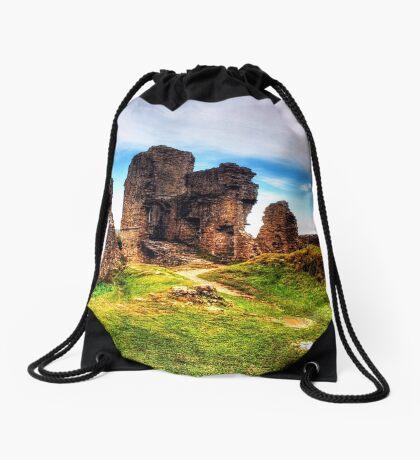 Castle Ruins Drawstring Bag