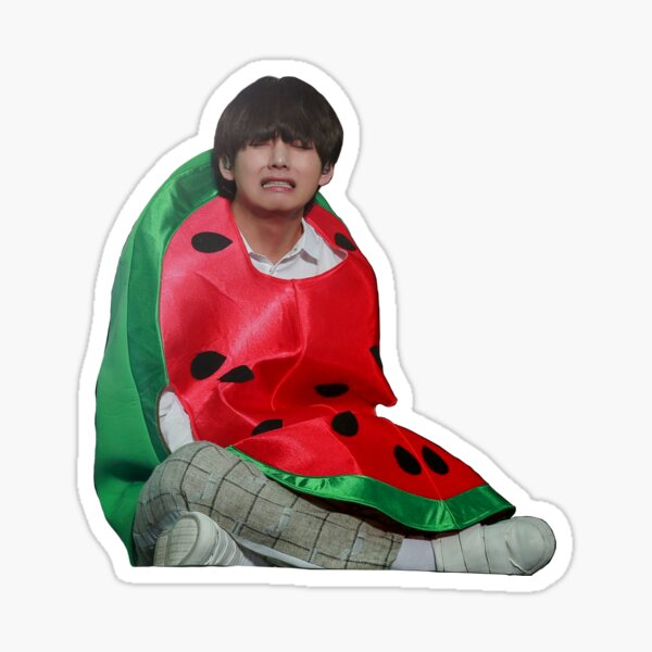 Cute BTS V - Kim Taehyung Sticker  Sticker