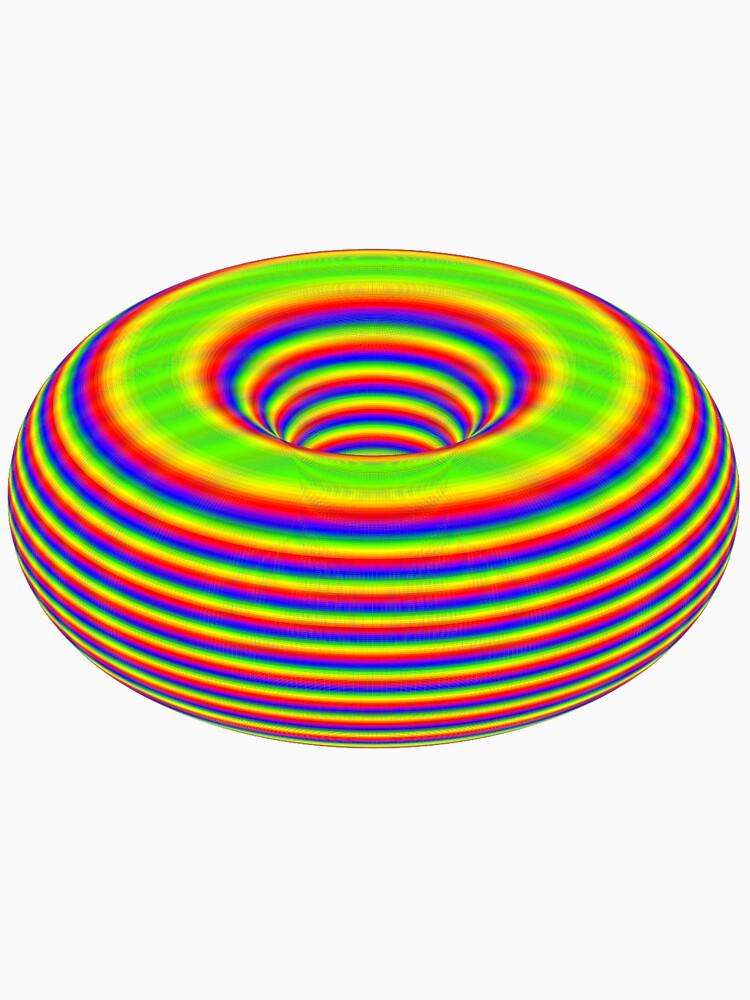 TORUS - Psychedelic Surface von Toxenum