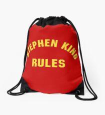Stephen King Rules Drawstring Bag