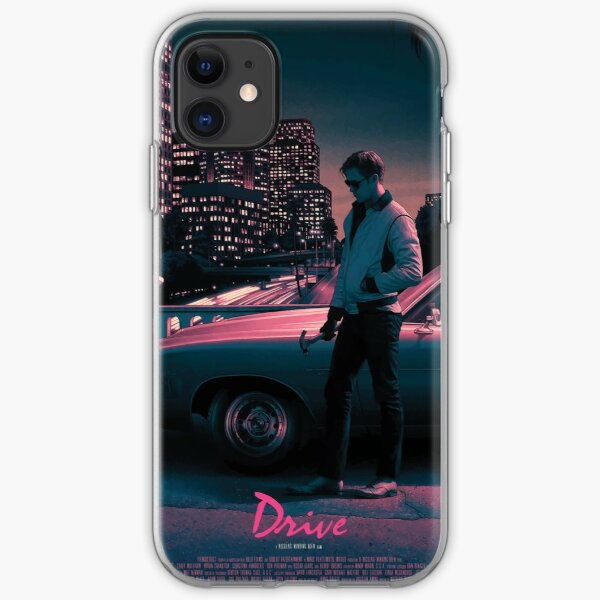 Drive movie poster iPhone Soft Case