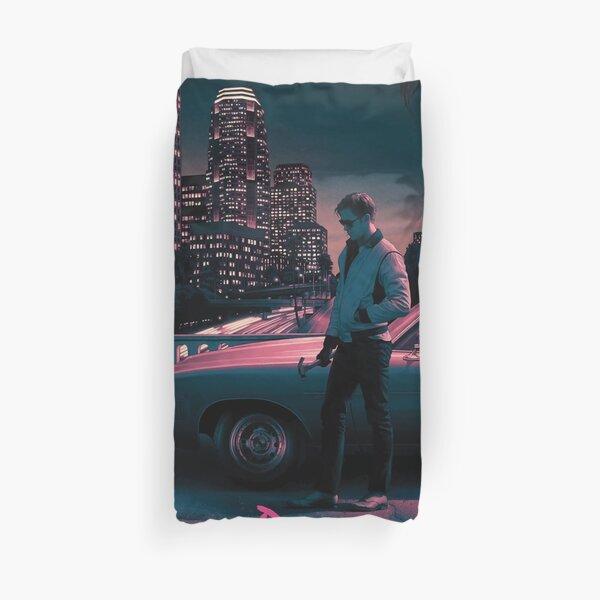 Drive movie poster Duvet Cover