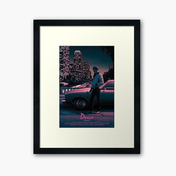 Drive movie poster Framed Art Print