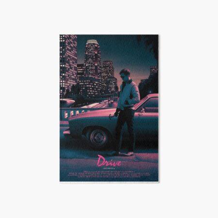 Drive movie poster Art Board Print