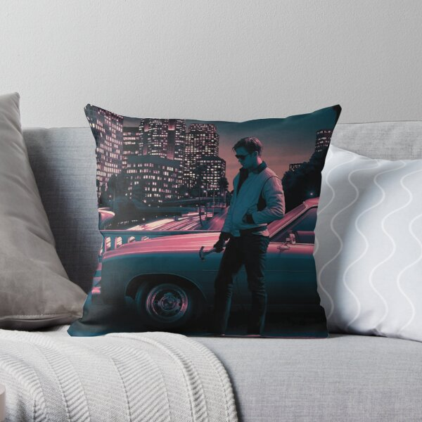 Drive movie poster Throw Pillow