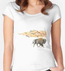 Keeper of Lands I Women's Fitted Scoop T-Shirt