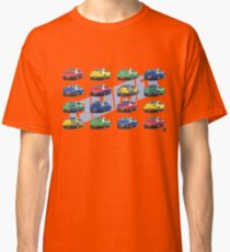 Geo3 Coupe Collage Doodle Classic T-Shirt