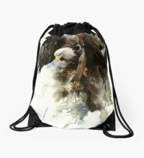 High And Mighty Drawstring Bag