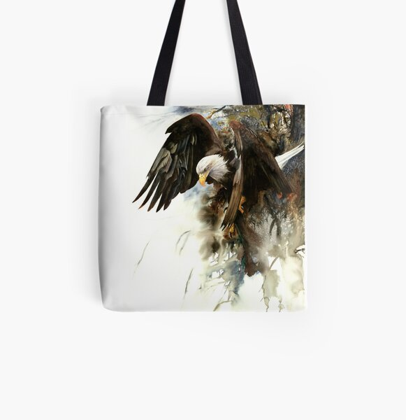 High And Mighty All Over Print Tote Bag