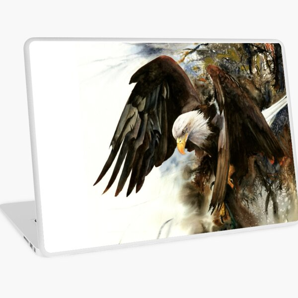 High And Mighty Laptop Skin