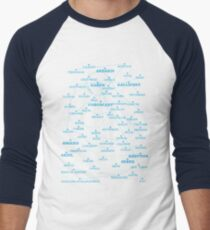 Sci-fi star map Men's Baseball ¾ T-Shirt