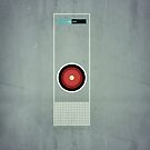 2001 - Hal 9000 by jackfords