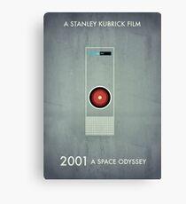2001 - Hal 9000 Canvas Print