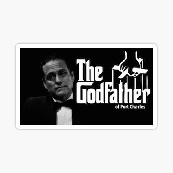 Sonny Corinthos: The Godfather of Port Charles Sticker