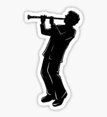 New York Boogie Nights Clarinet Sticker