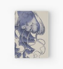 Jellyfish: In Bloom (Blue) Hardcover Journal