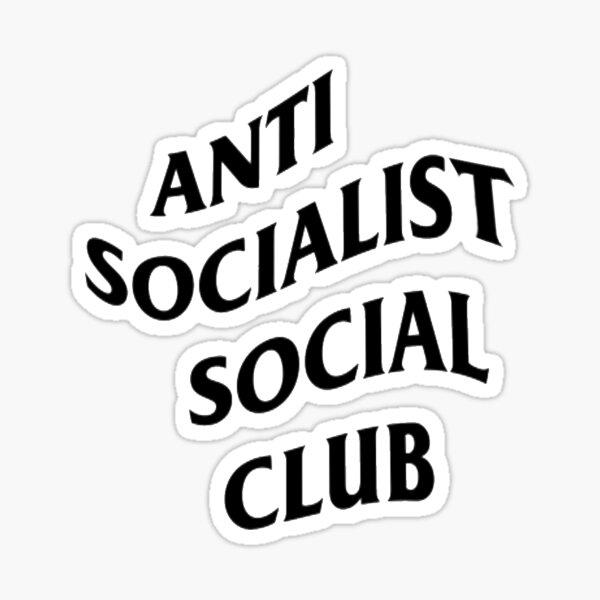 Anti Socialist Social Club Sticker