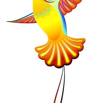 Hummingbird by Smaragdas