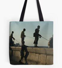 The Malecon in Havana, Cuba Tote Bag