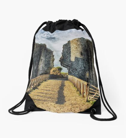 Castle Crossing Drawstring Bag
