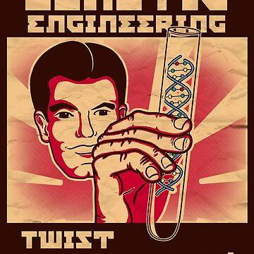 Genetics engineering. by jcmaziu