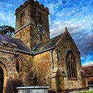 Symondsbury Church by Vicki Field