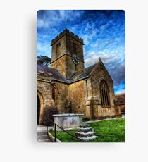 Symondsbury Church Canvas Print