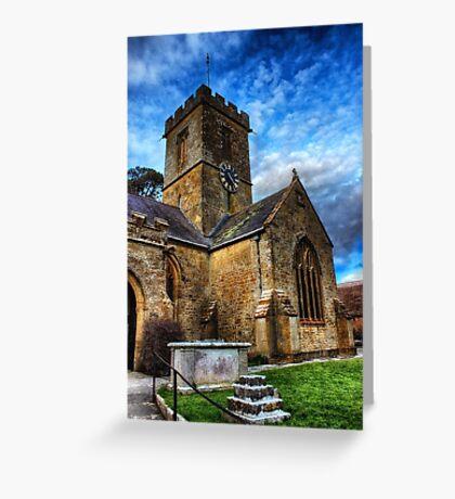 Symondsbury Church Greeting Card