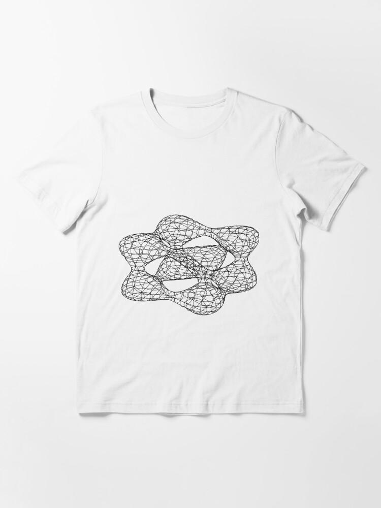 Alternative Ansicht von TANGLECUBE - Wired Goursat Tangle Essential T-Shirt