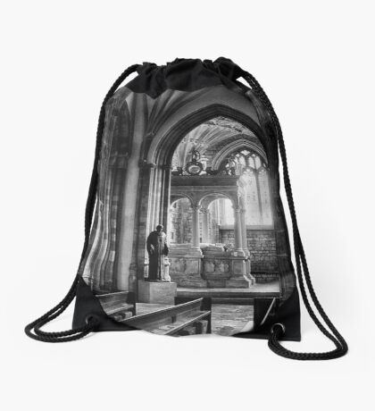 Contemplation Drawstring Bag