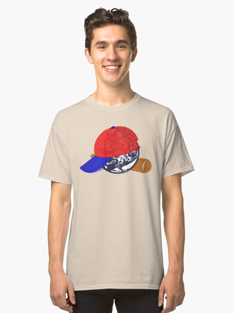 Earthbound/Mother2 Ness Classic T-Shirt Front