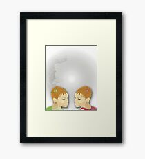 Retro Twinz~ Framed Print