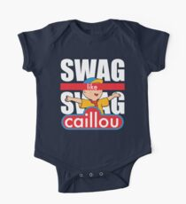 Swag Swag Like Caillou One Piece - Short Sleeve