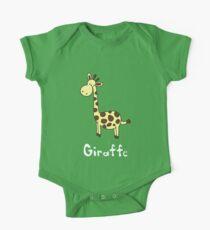 G for Giraffe One Piece - Short Sleeve