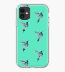 Aquarell Kolibri iPhone-Hülle & Cover