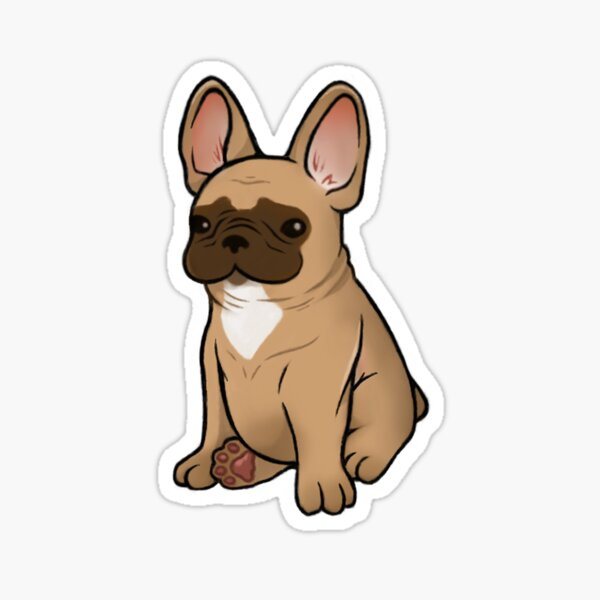 Frenchie - Fawn Sticker
