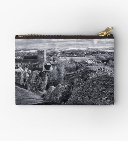 View over Corfe Zipper Pouch