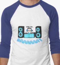 Camiseta ¾ estilo béisbol Drop the Baaaaaa