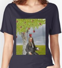 Isaac Newton Apple Tree Women's Relaxed Fit T-Shirt
