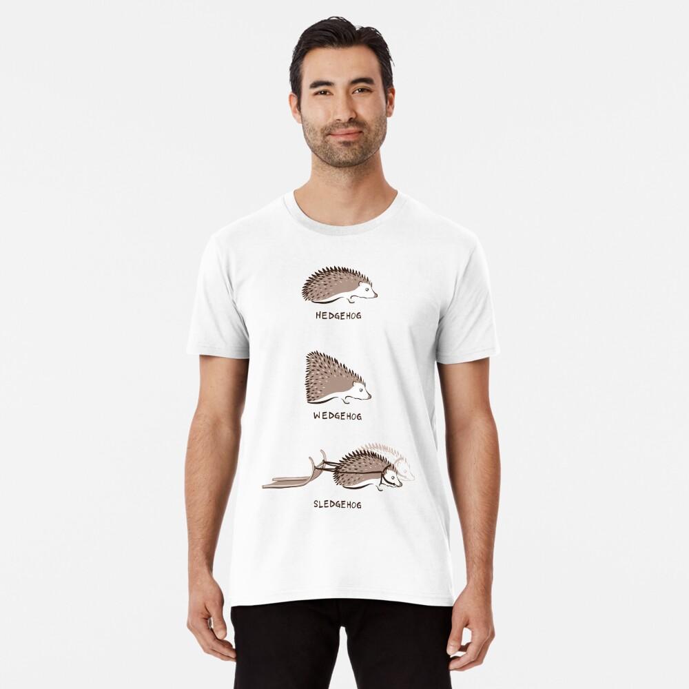 Hedgehogs and their relatives Premium T-Shirt