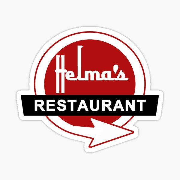 Helma's Restaurant Sticker