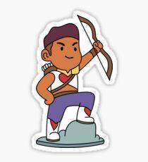 Bow Figurine, She-Ra 2018 sticker Sticker