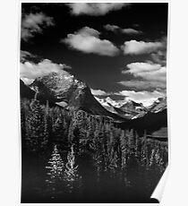 Mountain View, Tonquin Valley, Jasper National Park, Alberta, Canada Poster