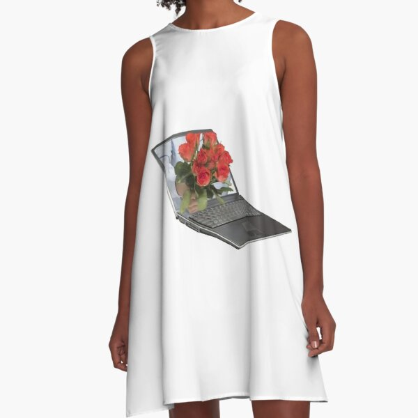 internet is real A-Line Dress