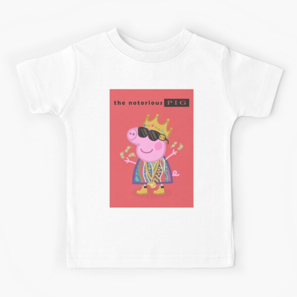 Notorious Kid Funny Hip Hop Rap Gangster Gift Youth Toddler T-Shirt Tees Tshirts
