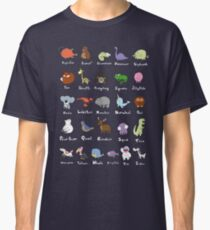 The Animal Alphabet Classic T-Shirt