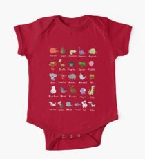 The Animal Alphabet One Piece - Short Sleeve