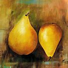 Sweet and Beautiful # 1, Acrylic painting by Esperanza Gallego